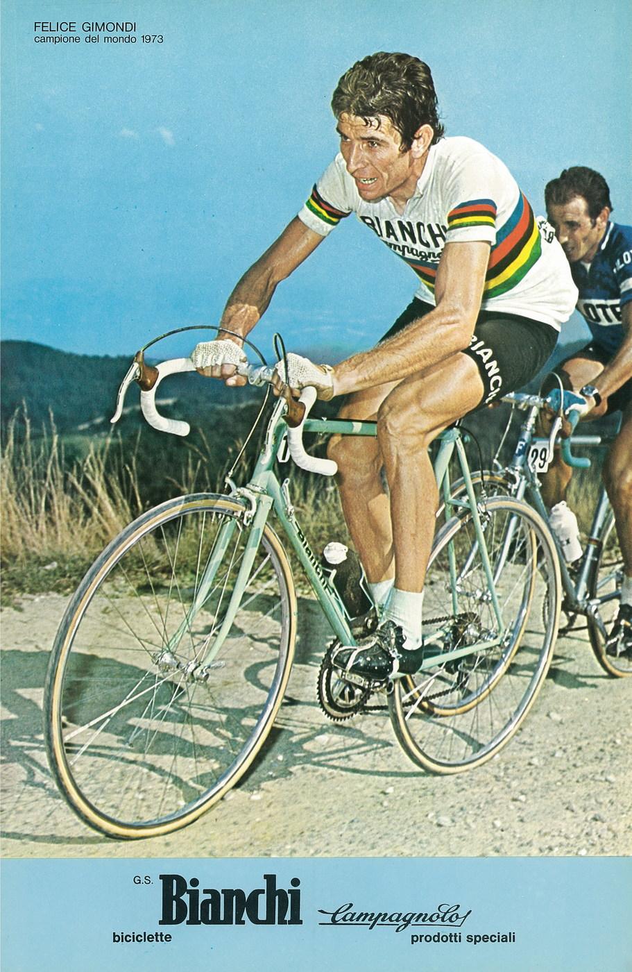 Felice Gimondi Bianchi Campagnolo