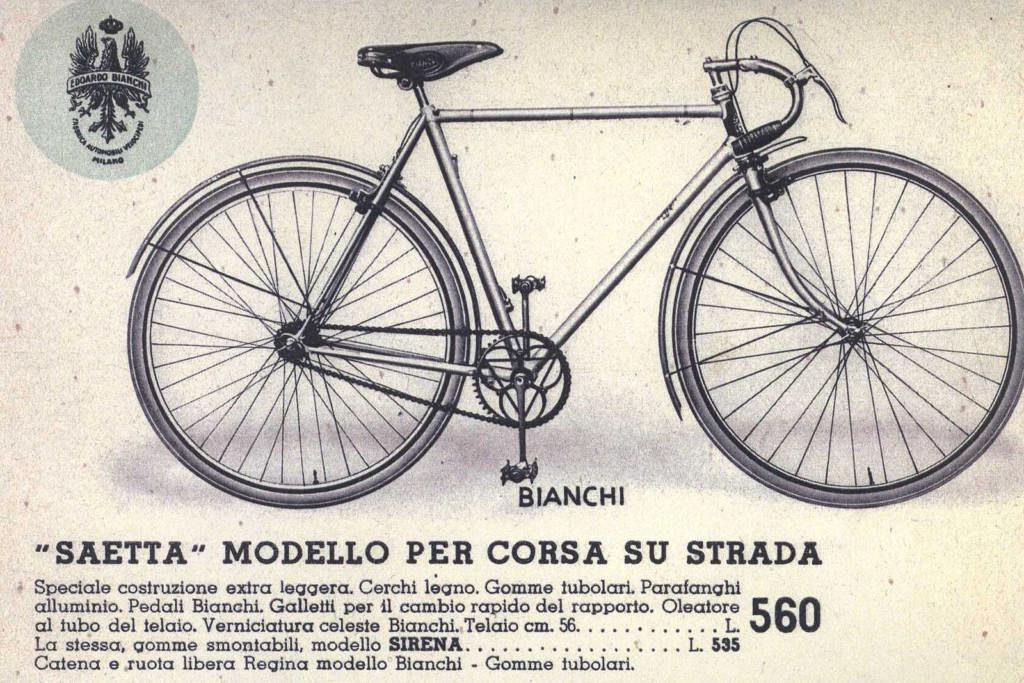 Bianchi Saetta 1936