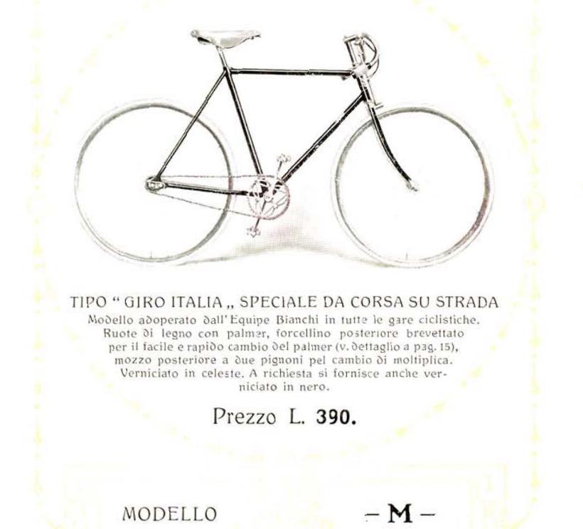 M modello Giro d'Italia 1912