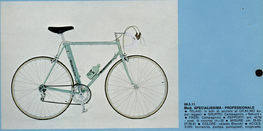 Bianchi Specialissima Professionale 1973