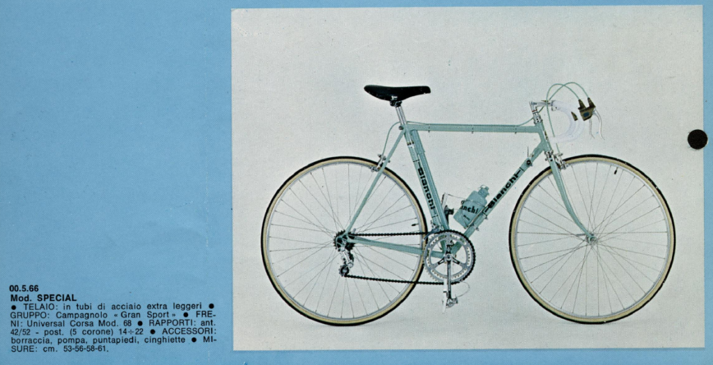 Bianchi Rekord Special 1973